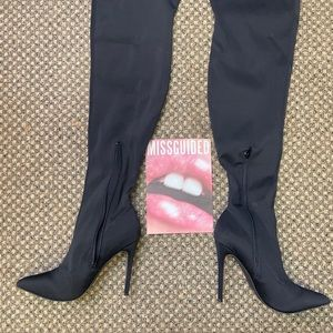 Missguided Knee High Boot